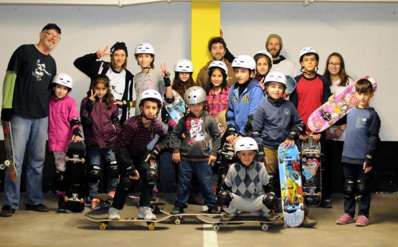 skate and integrate ! Wir skaten mit jungen Flüchtlingen