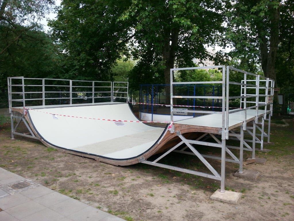 Skaten am Böcklerpark