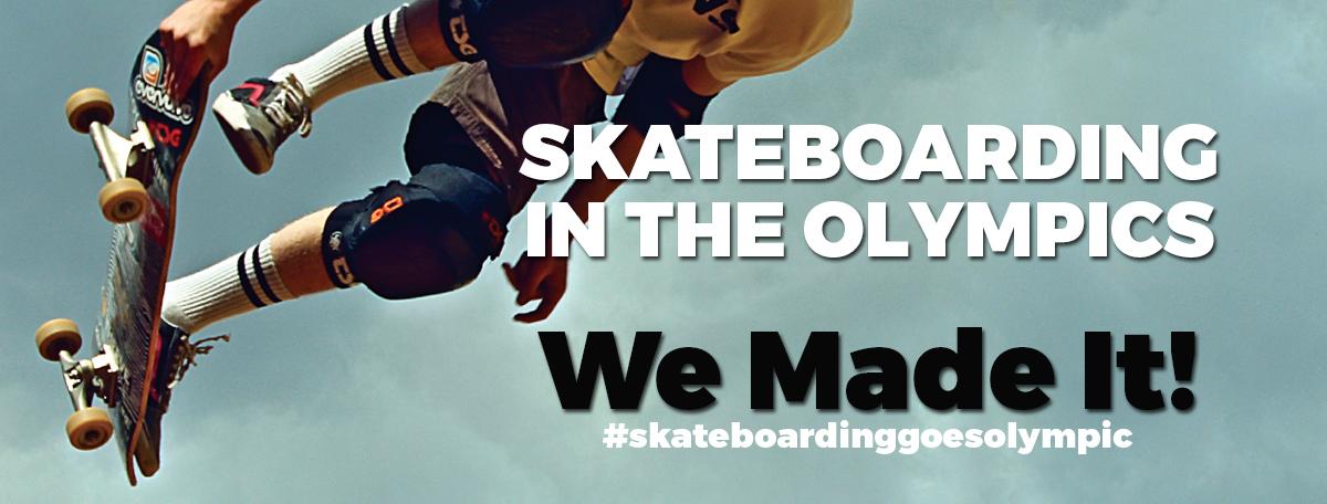 Nun ist es passiert – Skaten wird 2020 in Tokyo olympisch!