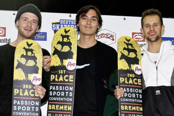 Passion Cup in Bremen: Denny hat abgeräumt!
