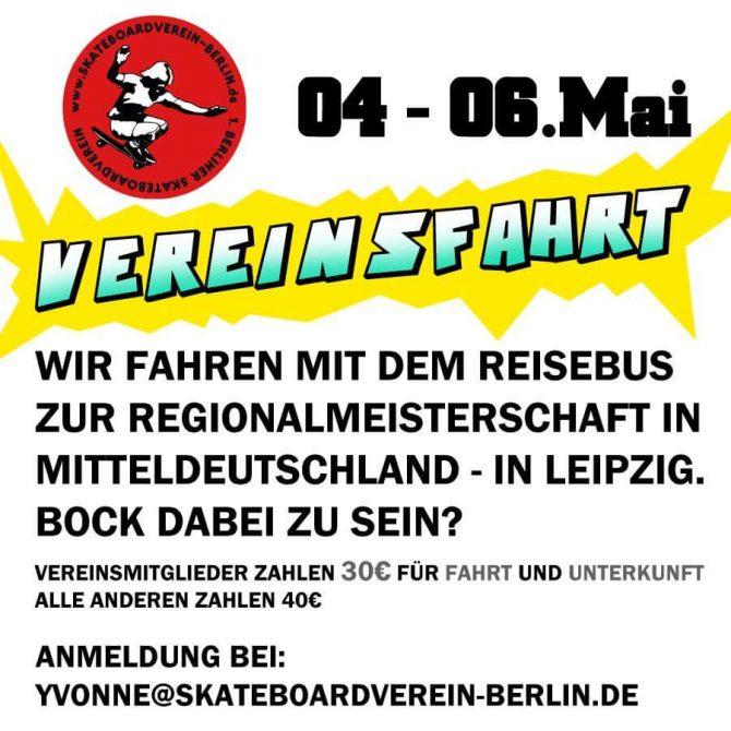 Vereinsfahrt nach Leipzig zur Regionalmeisterschaft