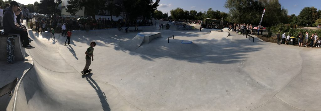 Skatepark Lankow Übersicht