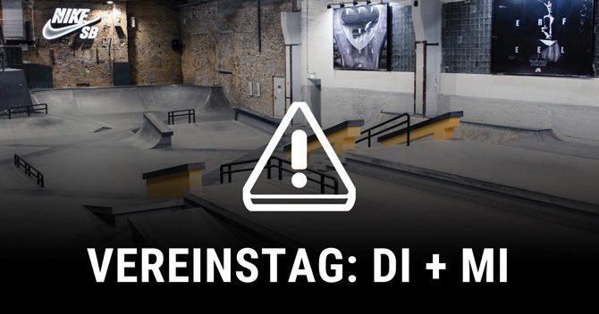 Reminder: 06. + 07. 11. Vereinstag in der Skatehalle