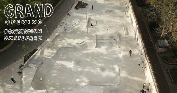 Grand Opening – Skatepark am Poststadion