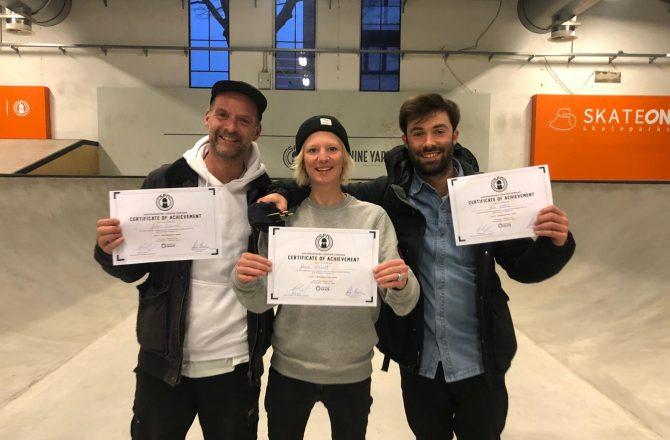 Erstes Judging Seminar von World Skate Europe