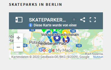 Wo geht es denn zum nächsten Skatepark?